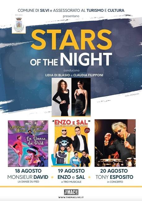 stars of night silvi