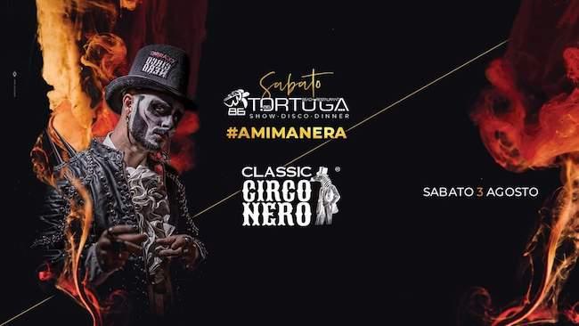 circo nero tortuga 3 agosto 2019