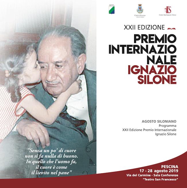 XXII Edizione del Premio Internazionale Ignazio Silone