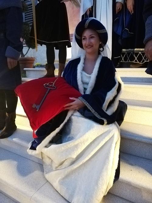 Ilaria Zenobi, Gran Dama
