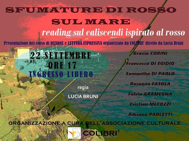 Giulianova, al via le iniziative del circolo culturale Colibrì
