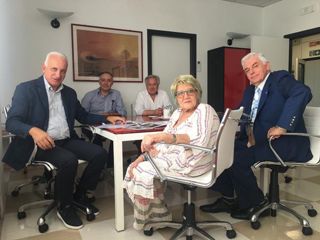 L. Ambrosj, M. Robellini, A. Aramondi, M. Capostrini, A. Dukic