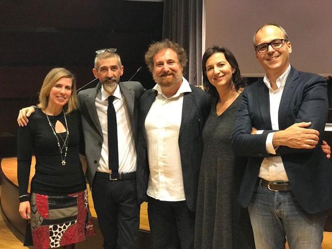 Gli autori e gli organizzatori dell'evento Ottantuno