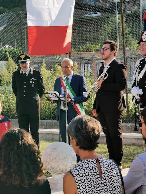 celebrazione commemorazione Di Resta Pescara