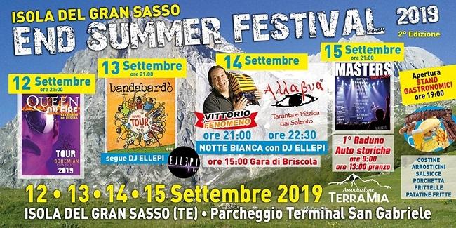 end summer festival