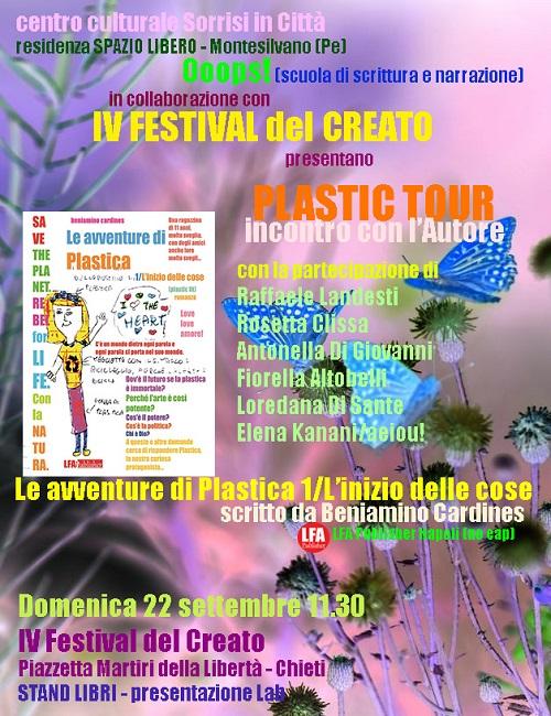plastic tour 22 settembre 2019