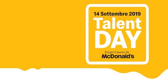 talent day mc donalds