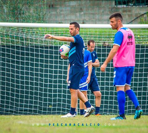 allenamento Pescara 4 ottobre 2019