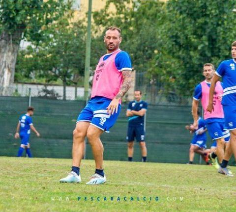 allenamento Pescara calcio 9 ottobre 2019