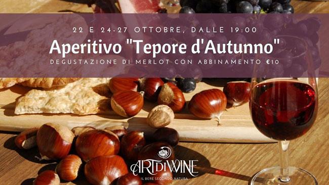 aperitivo tepore autunno
