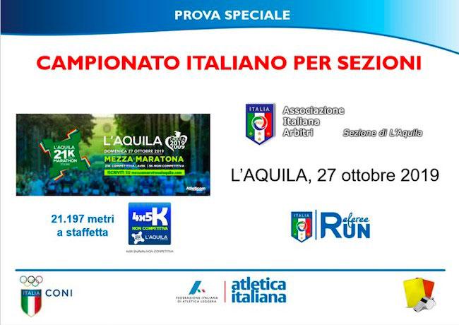 campionato italiano per sezioni