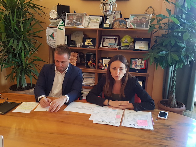 conferenza stampa condominio solidale Giulianova