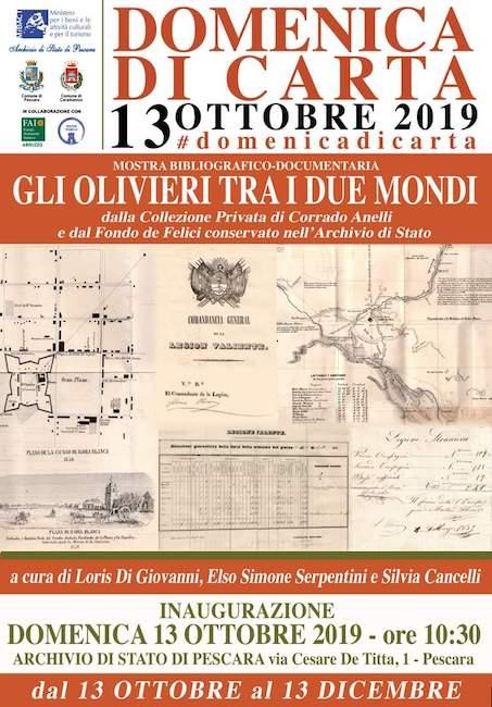 domenica di carta Pescara 13 ottobre 2019