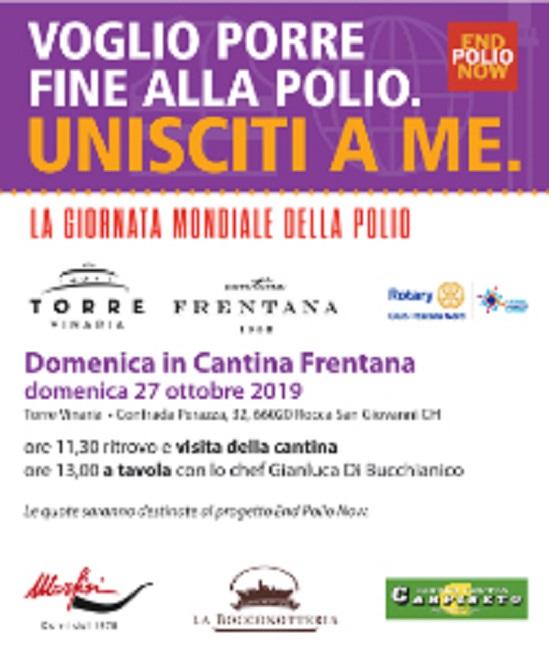 Rocca San Giovanni, alla Cantina Frentana l'edizione 2019 di Rotary in cantina