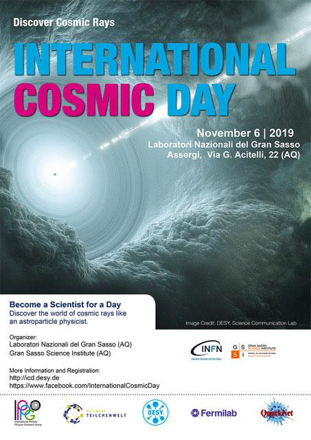 International Cosmic Day 2019 a L'Aquila