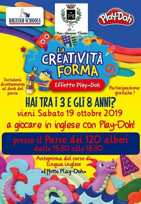 San Giovanni Teatino, si impara l'inglese giocando con Play-Doh