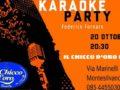 karaoke party 20 ottobre 2019
