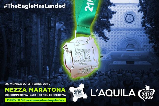L'Aquila, lunedì prossimo la presentazione della Mezza Maratona