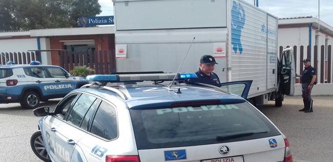 polizia stradale vasto sud