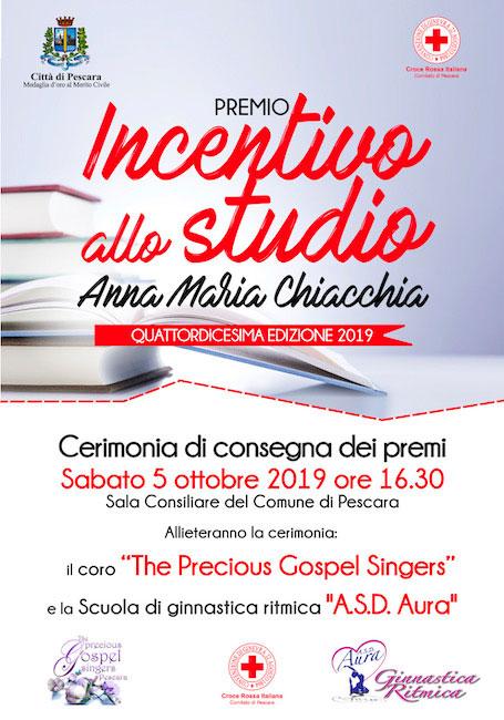 14° Premio Incentivo allo studio Annamaria Chiacchia Pescara