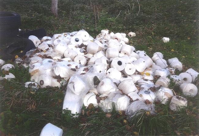 rifiuti abbandonati Montesilvano