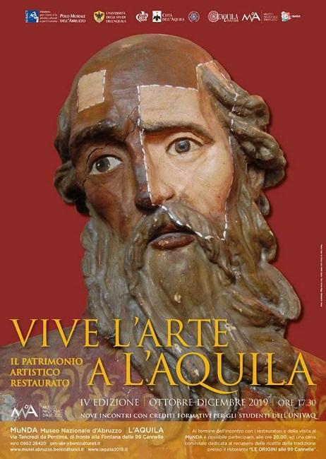 Torna Vive L'Arte a L'Aquila: ecco dove e quando