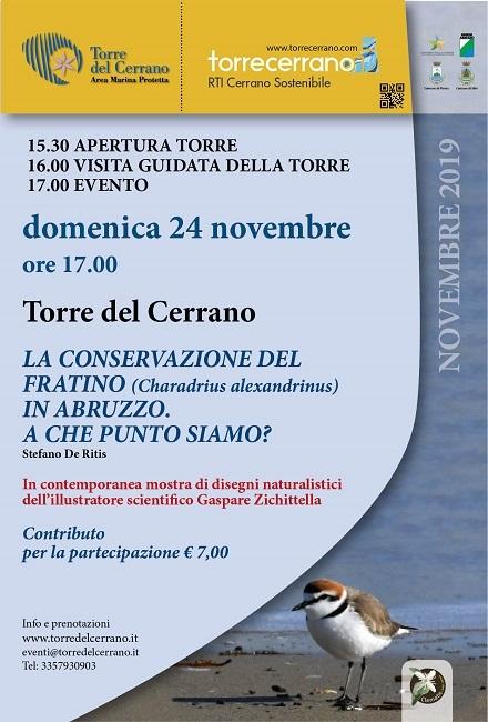 Locandina evento 24-11-2019 Torre Cerrano - Fratino-1