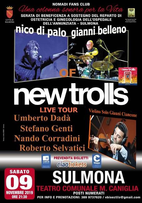 Sulmona, grande attesa per il concerto degli Of New Trolls