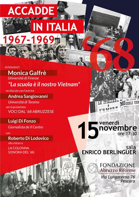 accadde in italia 1967-1969 locandina