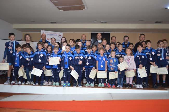I baby ciclisti degli Amici della Bici premiati a Montesilvano