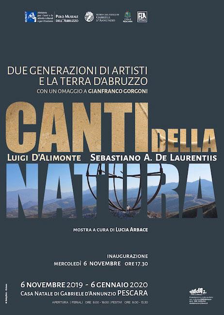 canti della natura mostra Pescara