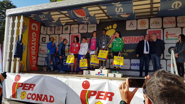 corsa di san martino 2019 podio donne