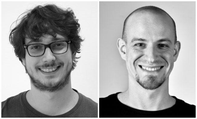 Emilio Cruciani e Roberto Verdecchia, dottorandi in informatica al GSSI
