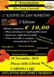 Estate di San Martino 2019 a Carsoli - Abruzzonews