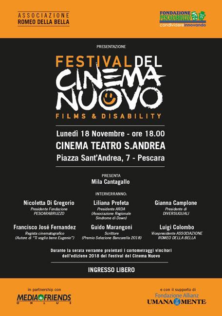 festival del cinema nuovo pescara 2019