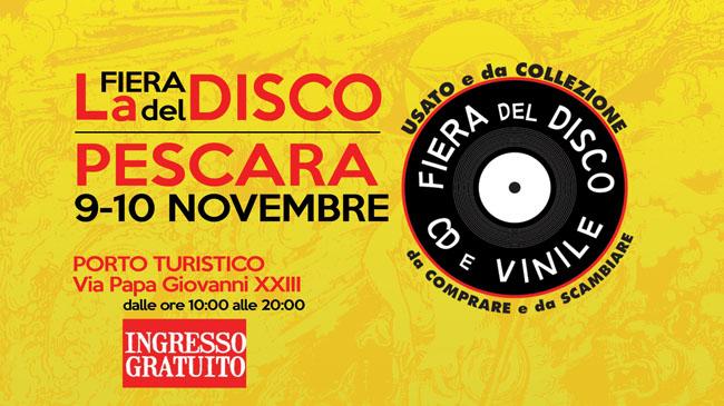 fiera del disco Pescara 2019