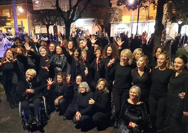 flash mob giulianova