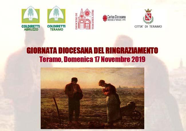 giornata regionale del ringraziamento teramo 17 novembre 2019
