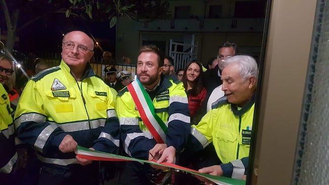 inaugurazione coc e sede protezione civile giulianova