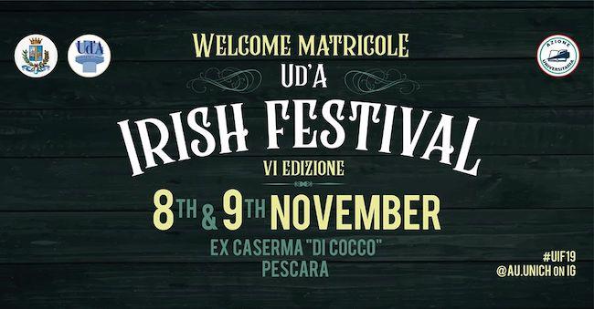 irish festival caserma cocco 2019
