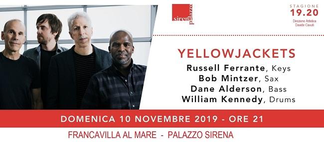 locandina ufficiale Yellowjackets a Franca