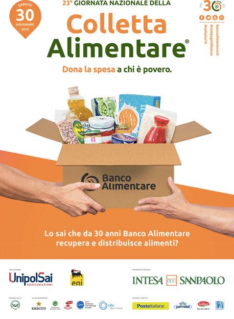 manifesto colletta alimentare 2019