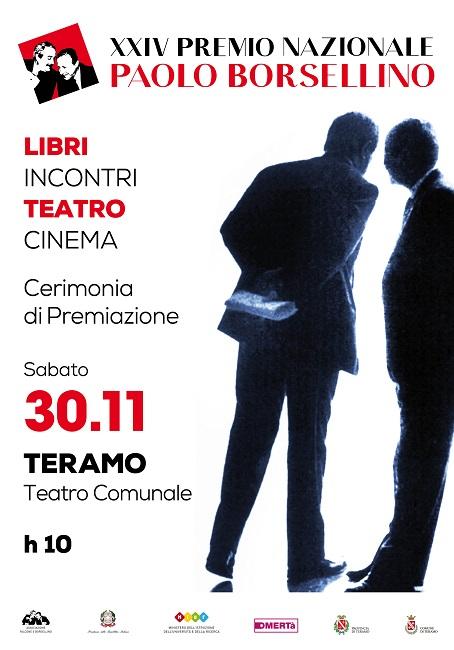 Teramo, XXIV° Premio Nazionale Paolo Borsellino