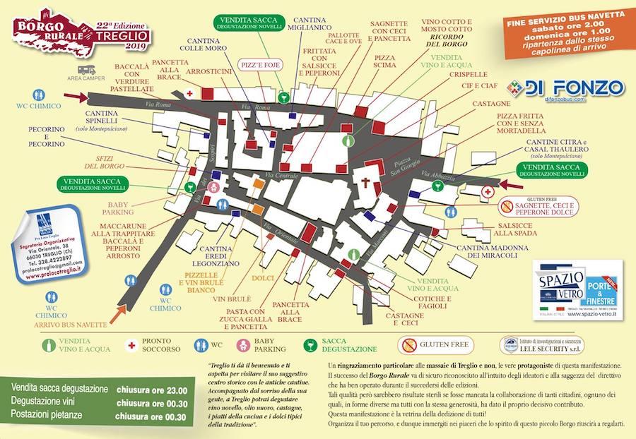 mappa borgo rurale 2019