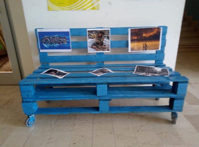 panchina azzurra