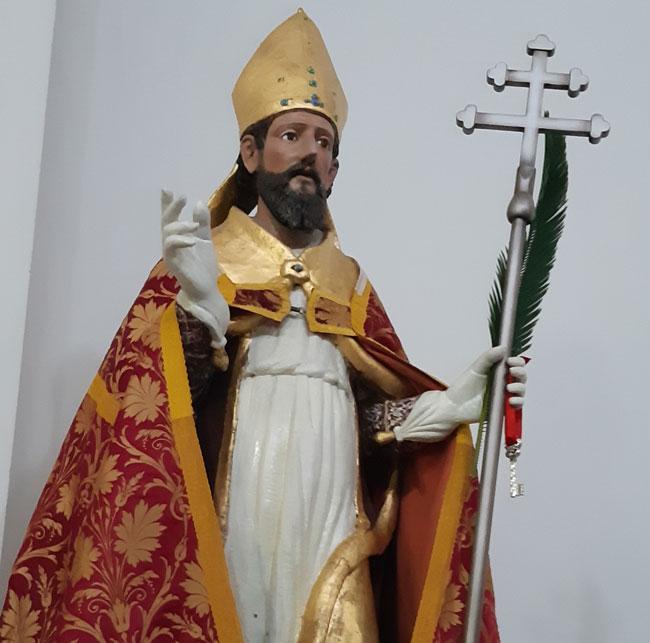 san flaviano statua festa