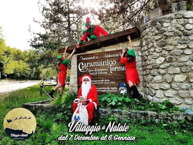 Villaggio di Natale 2019 a Caramanico Terme