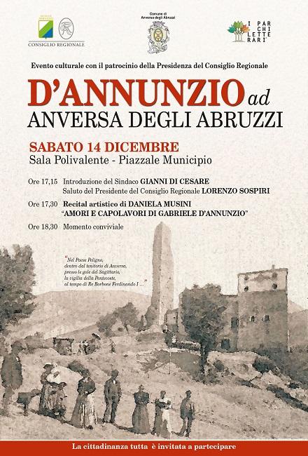 Anversa degli Abruzzi: escursione, conferenza e recital Di Daniela Musini