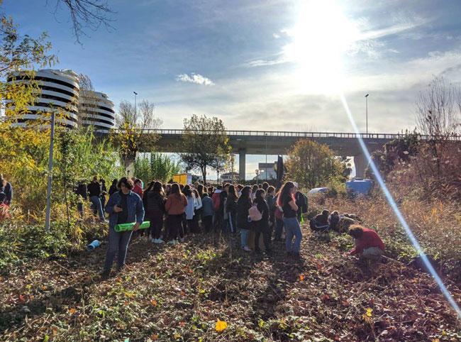 Fridays For Future al giardino fluviale
