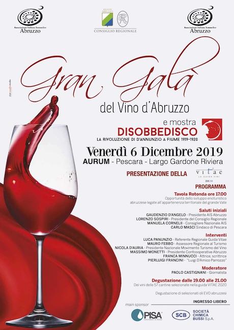 gran galà del vino d'Abruzzo 2019